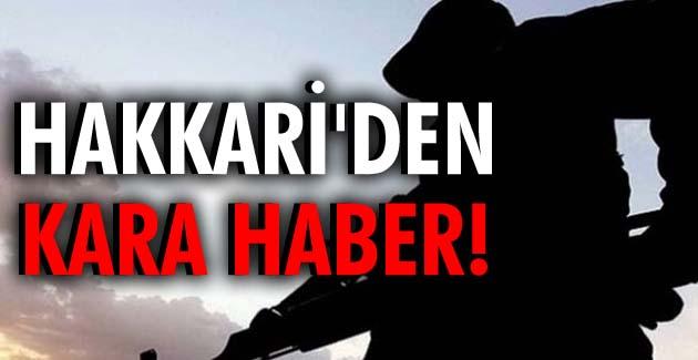 Hakkari'den kara haber: 3 asker şehit, 1 asker yaralı