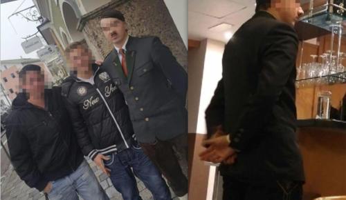 25 Yaşındaki Avusturyalı Genç Adolf Hitler'e Benzemesinden Dolayı Göz Altına Alındı