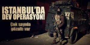 Şafak Vakti İstanbul'da Uyuşturucu Operasyonu Yapıldı
