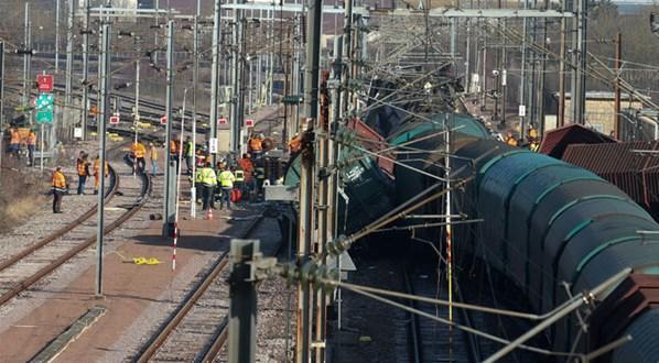 Lüksemburg'da Yine Bir Tren Kazası