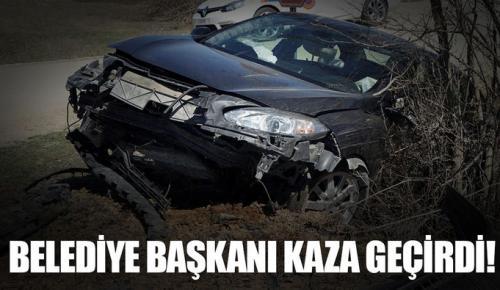 Pınarbaşı Belediye Başkanı Mehmet Yılmaz kazada yaralandı