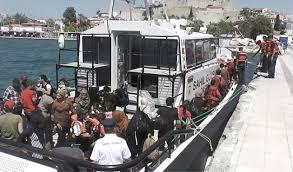 56 göçmen yakalandı