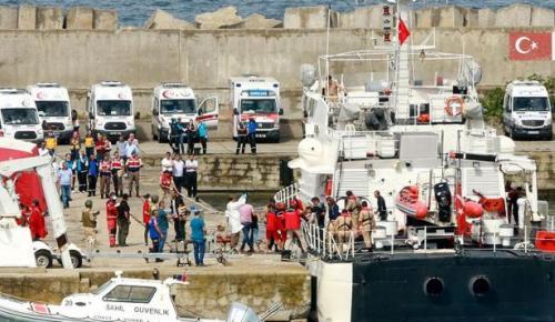 Kocaeli'de mülteci teknesi battı