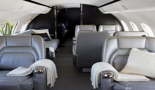 Dünyanın en lüks özel jet ilk uçuşu için hazırlandı