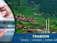 Trabzon Havalimanı Araç Kiralama Hizmeti