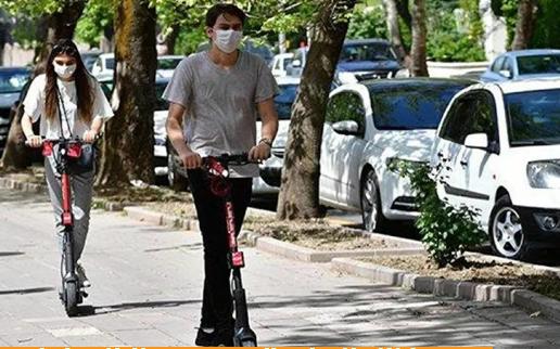 Elektrikli scooter'larla ilgili karar