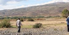 Bingöl'de köylüler göktaşlarının peşine düştü