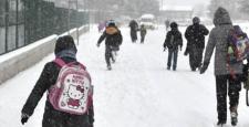 Güneydoğu'da 3 ilde eğitime kar engeli!