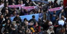 Trabzonspor'un taraftar grubundan Amedspor'a destek