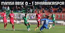Manisa BBSK 0 – 1 Diyarbekirspor ! Umutlar Play Off'lara