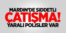 Mardin'de çatışma ! 4 Polis Yaralı, 4 PKK üyesi öldü
